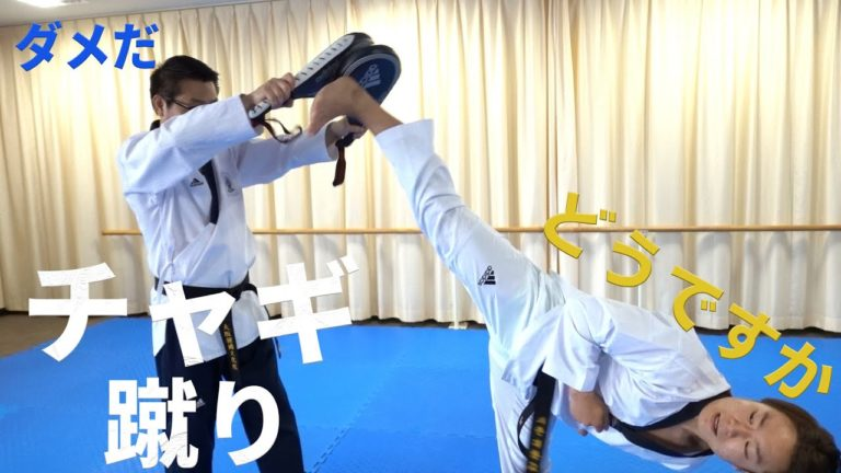 基本動作編 チャギ(蹴り)/ 기본동작편 차기